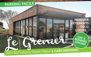 Le grenier boutique de seconde mains à Carcassonne