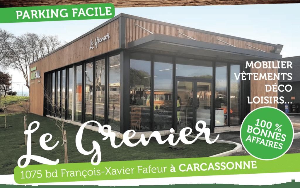 Ouverture du Grenier, boutique solidaire à Carcassonne