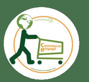 logo commerce engagé