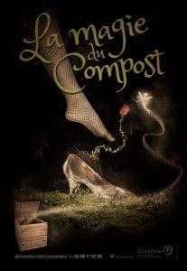 affiche la magie du compost